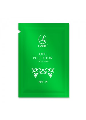 Крем для лица Защитный крем для лица Lambre ANTI-Pollution face cream SPF 15 (пробник) фото, цена
